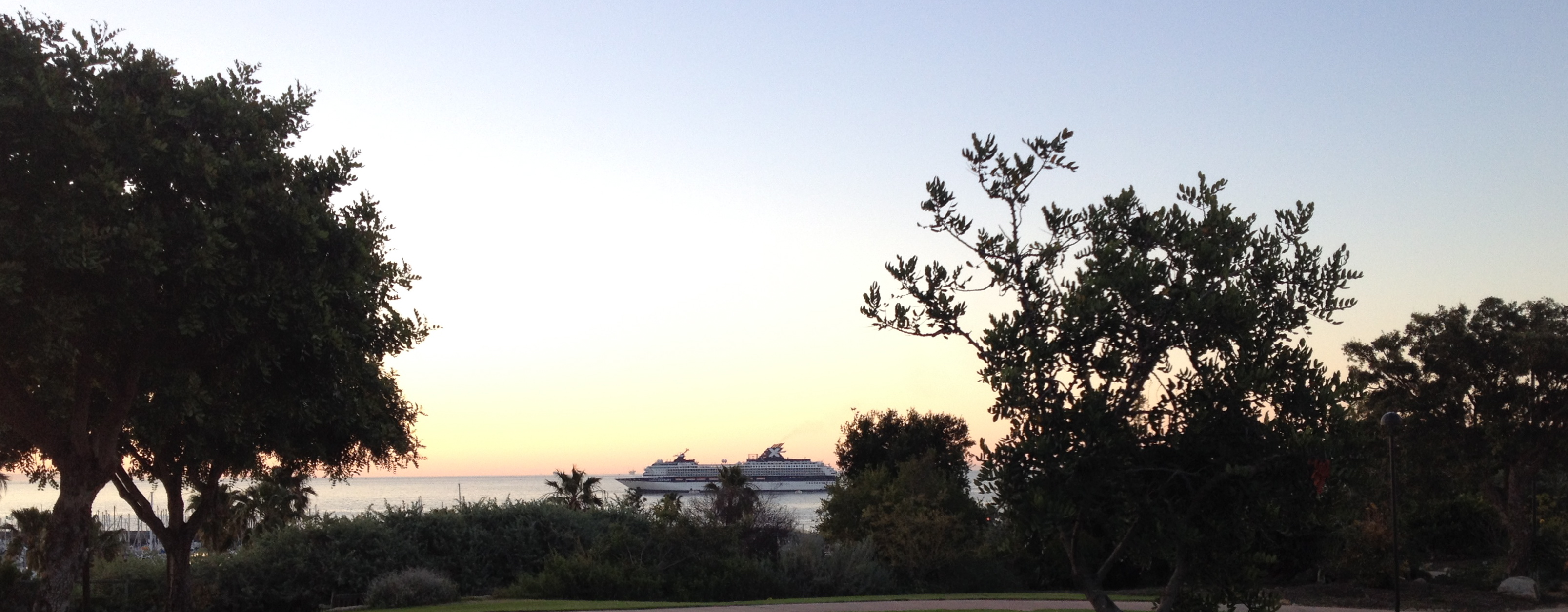 Cruise Ship off SBCC