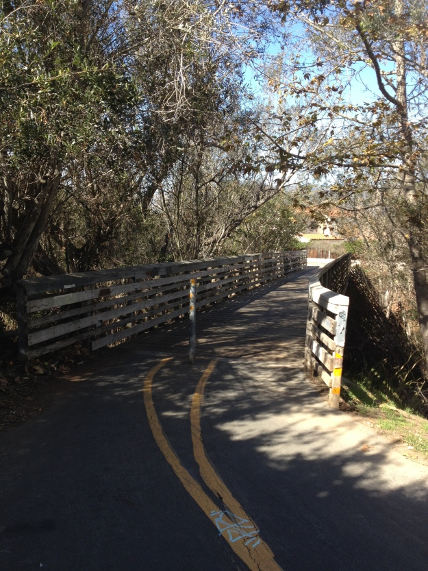 Obern Trail Bridge by Hidden Oaks Golf Course