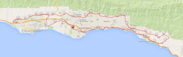 Long Ride: SB to Carp to Goleta